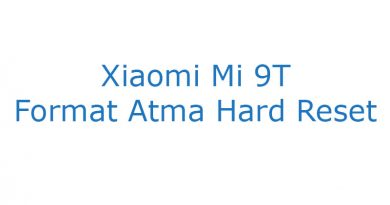 Xiaomi Mi 9T Format Atma Hard Reset