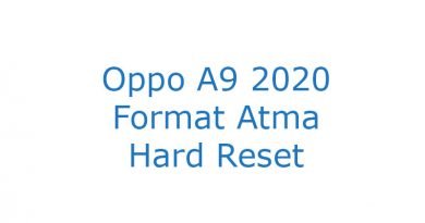 Oppo A9 2020 Format Atma Hard Reset