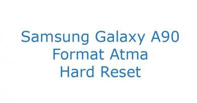 Samsung Galaxy A90 Format Atma Hard Reset