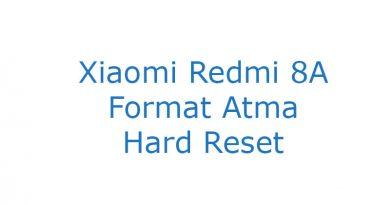 Xiaomi Redmi 8A Format Atma Hard Reset