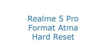 Realme 5 Pro Format Atma Hard Reset