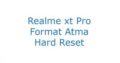 Realme xt Pro Format Atma Hard Reset