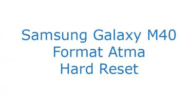 Samsung Galaxy M40 Format Atma Hard Reset