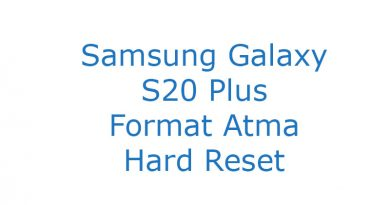 Samsung Galaxy S20 Plus Format Atma Hard Reset