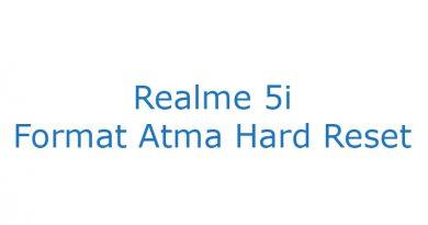 Realme 5i Format Atma Hard Reset