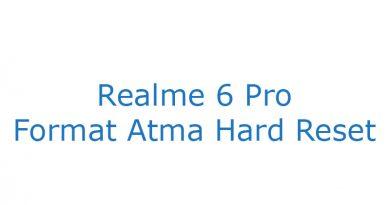 Realme 6 Pro Format Atma Hard Reset
