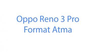 Oppo Reno 3 Pro Format