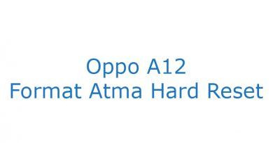 Oppo A12 Format Atma Hard Reset