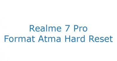 Realme 7 Pro Format Atma Hard Reset
