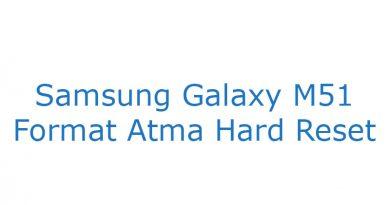 Samsung Galaxy M51 Format Atma Hard Reset